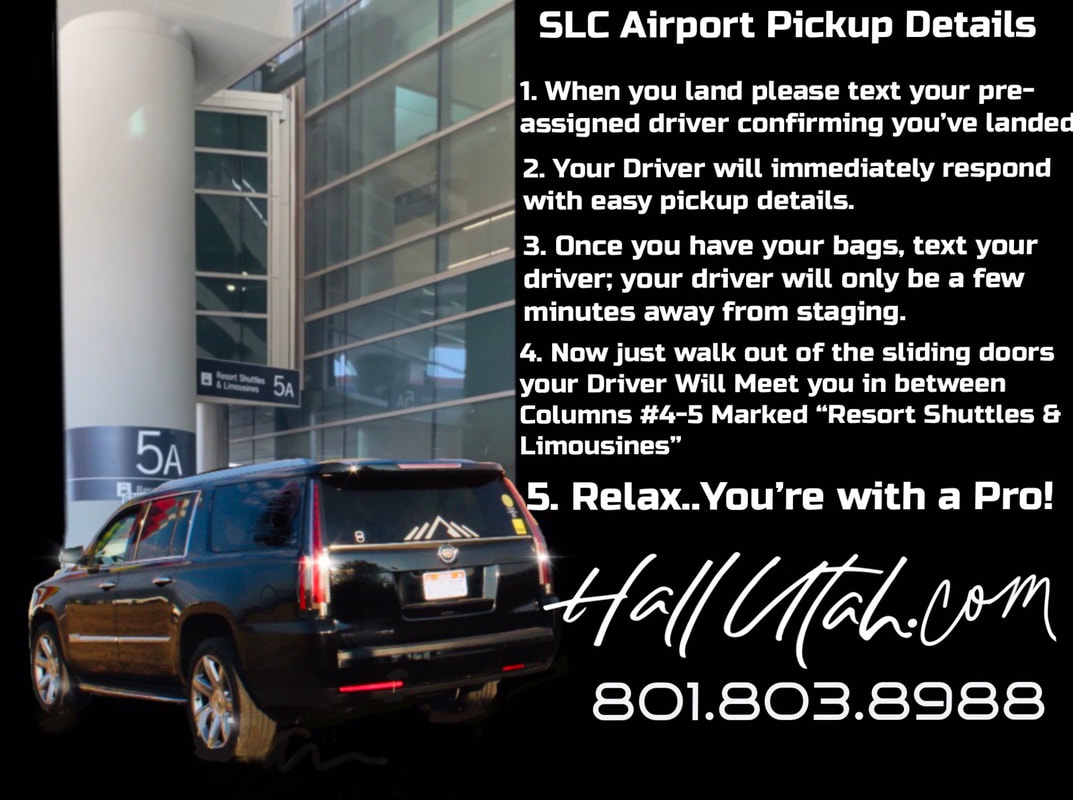 New Salt Lake City Airport Details. Book Transportation At Its Best.